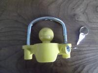 Trailer lock, hardly used
