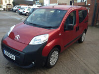 2010 CITROEN NEMO MULTISPACE 1.4 HDI VAN 5 SEATER AIR CON TWIN DOOR NO VAT