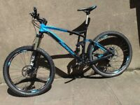 Merida 2016 One Forty 700 full suspension mountain bike