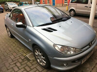 for sale peugeot 206 cc convertible very nice condition
