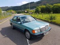 1992 Mercedes 190E 2.0 Manual *MUST SEE* Great Future Classic , Very Clean Example (Low Mileage)