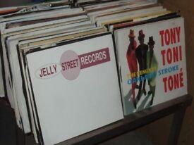 250 X 12 90s Dance Euro Pop Vinyl Collection JOB LOT