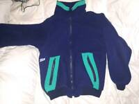 Cosy navy jackets suitable for sailing x3
