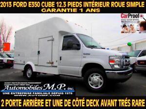 2013 Ford E-350 E-350 CUBE 12.3 PIEDIS INTÉRIEUR DECK
