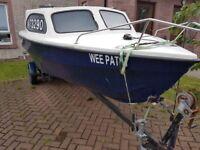 Marina boat and engine