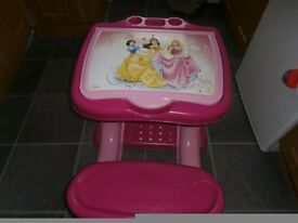 Princess desk chair set