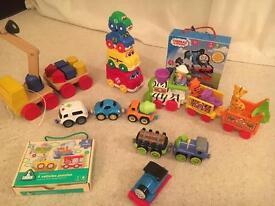 Vehicle toy bundle