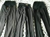 Maternity trousers and tops size 8 and 10