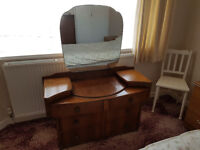 Dressing Table 1950s Vintage Piece - Delivery Included to local area