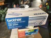 Original new brother DR-2000 drum for laser printer