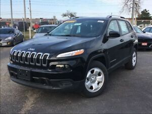 2017 Jeep Cherokee SPORT**4X4**BACK UP CAM**REMOTE START**BLUETO