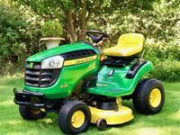 "John Deere X125 Ride On Mower - 42"" Deck - Mulch kit - Lawnmower- countax/Kubota"