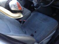 Vauxhall vivaro drives seat