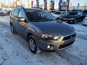 2013 Mitsubishi Outlander LS, 4X4, CAM, ONLY 49075 KM, MAGS, 3.0
