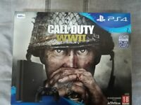 ps4 call of duty ww11 console less than 1 month old