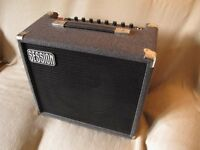 Session 75 Guitar Amplifier. Full working order with footswich and original cover.