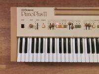 Roland Piano Plus EP-11 Analog Synth Electric Piano / Drum Machine / Arpeggiator