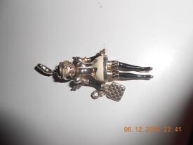 Thoms Sabo Authentic Police Woman Pendant/Charm