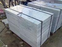 CARRARA BIANCO MARBLE TILES 600 X 600 X 20 MM
