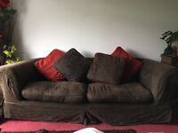 3 seater sofa with 2 sets of removable covers