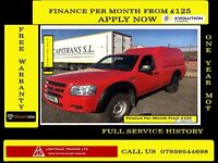 EASTER SALE!! REDUCED PRICE,Ford Ranger 2.5 Cab Pickup 4x4- 140BHP - 52K Miles -1 Owner-FSH 7 STAMPS