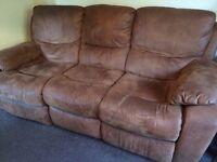 3 Seater Recining Sofa