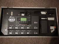 Fractal Audio FX8 Mk II with Flight Case and Expression Pedal