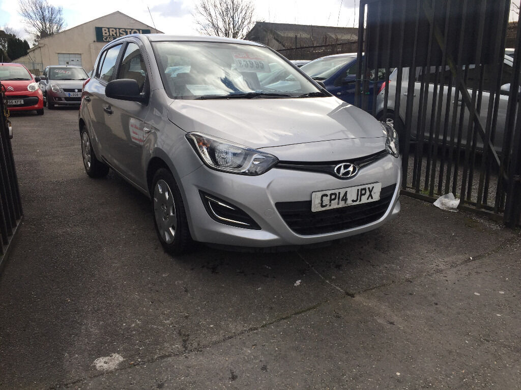 Hyundai i20 2014 Silver 1.2 Petrol Manual 5 Door Hatchback LOW MILEAGE  Service History