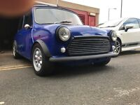 Classic mini near finish project