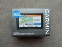 Garmin Drivesmart 51 with UK & Europe maps