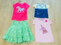 Girls age 9-10 Boden and Joules clothes mostly new