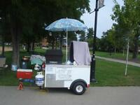 VENDING or HOT DOG CART