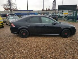 2006 Ford Mondeo ST 2.2 TDCi half leather remapped black on black diesel