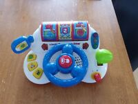 Vtech Tiny Tot Driving Wheel