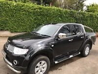2013 Mitsubishi L200 TROJAN DCB DI-D Pick-Up ***Cosmos Black, Chrome Bars, etc.***