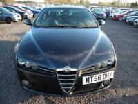 ALFA ROMEO 159 1.9 JTDM 16V LIMITED EDITION 4d 150 BHP (black) 2009