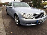 2004 MERCEDES S350 AUTO BLUE one of a kind only 46K miles fully loaded