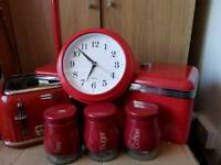 Red Kitchen items