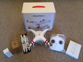 DJI Phantom 3 Standard (with 2 DJI batteries)
