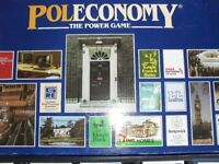 POLECONOMY THE POWER GAME 1983 COLLECTABLE VINTAGE - WOODRUSH - COMPLETE IN GOOD CONDITION