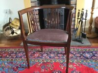 Captain chair, in vgvc shabby chic, used and loved