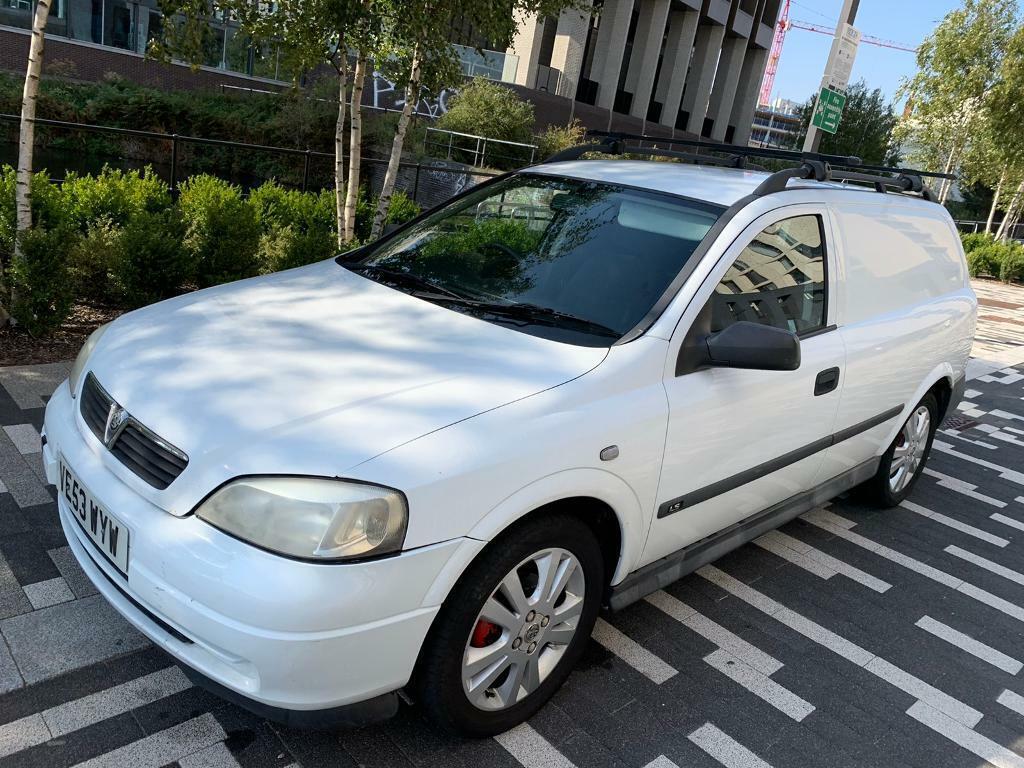 VAUXHALL ASTRA 1.6 petrol AUTOMATIC DERIVED VAN + FULL ...