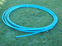 Blue plastic water pipe - 15m
