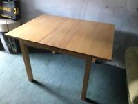 Small extending kitchen Table