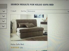 Kelso sofa bed - natural colour