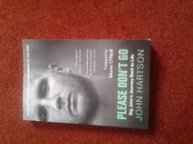 John Hartson Book for sale.