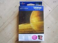 Genuine Original Brother LC1100M Magenta Ink Cartridge