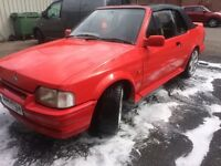 Ford escort xr3i convertible rs body kit