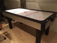 Air hockey table as pictured