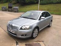 **TOYOTA AVENSIS TR 2.0 DIESEL 5 DOOR HATCHBACK (2008 YEAR)IN IMMACULATE CONDITION**
